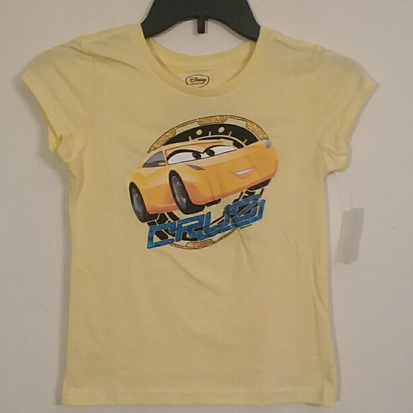 Disney Shirts Tops Cars 3 Cruz Ramirez Girls Tshirt Poshmark